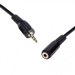 8ware-QK-8054-8Ware 3.5 Streo Male to Female 5m Speaker/Microphone Extension Cable