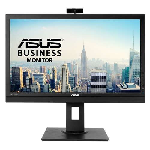 "ASUS-BE24DQLB-ASUS BE24DQLB 23.8"" FHD IPS Video Conferencing Monitor With Integrated Full HD Webcam - Mic Array"