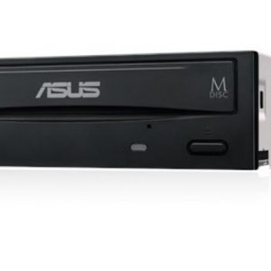ASUS-DRW-24D5MT/BLK/B/AS/P2G OEM-ASUS DRW-24D5MT Extreme Internal 24X DVD Writing Speed With M-Disc Support (OEM Version)