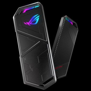 ASUS-ESD-S1C/BLK/G/AS//-ASUS ROG STRIX ARION M.2 NVMe SSD Enclosure USB 3.2 GEN2 Type-C (10Gbps) (ESD-S1C/BLK/G/AS//)