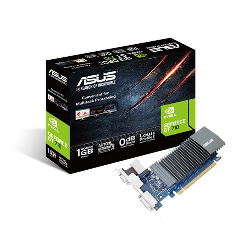 ASUS-GT710-SL-1GD5-BRK-ASUS nVidia GT 710-SL-1GD5-BRK PCI Express Graphic Card