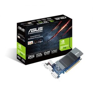 ASUS-GT710-SL-2GD5-BRK-ASUS nVidia GT 710-SL-2GD5-BRK PCI Express Graphic Card