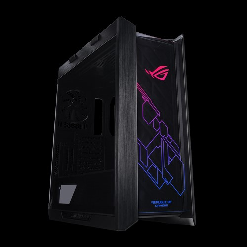 ASUS-GX601 ROG STRIX HELIOS CASE/BK/AL/WITH HANDLE-ASUS GX601 ROG Strix Helios Case ATX/EATX Black Mid-Tower Gaming Case With Handle