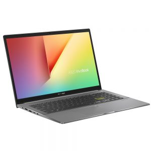 """ASUS Notebook-S533EA-BN141T-Asus VivoBook S15 15.6"""" FHD Intel i7-1165G7 16GB 512GB SSD WIN10 HOME Intel Iris Xᵉ Graphics Backlit 3CELL 1.8kg 1YR WTY W10H Notebook (Grey)(LS)"""