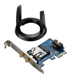 ASUS-PCE-AC55BT-Asus PCE-AC55BT AC1200 WiFi CI-E Card With Bluetooth 4.0 Support