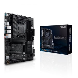 ASUS-PRO WS X570-ACE-ASUS WS AMD AM4 X570 ATX Workstation MB. 3 PCIe 4.0 x16