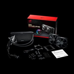 ASUS-ROG RYUO 240-ASUS ROG Ryuo 240 All-In-One Liquid CPU Cooler