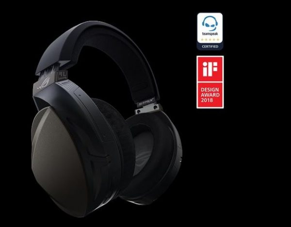 ASUS-ROG STRIX FUSION WIRELESS-ASUS ROG STRIX FUSION Wireless Over-the-ear Gaming Headset For PC / Pllaystation 4