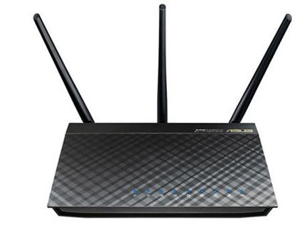ASUS-RT-AC66U B1-ASUS RT-AC66U B1 Wi-Fi 5 802.11ac Dual-Band Wireless-AC1750 Gigabit Router With AiMesh