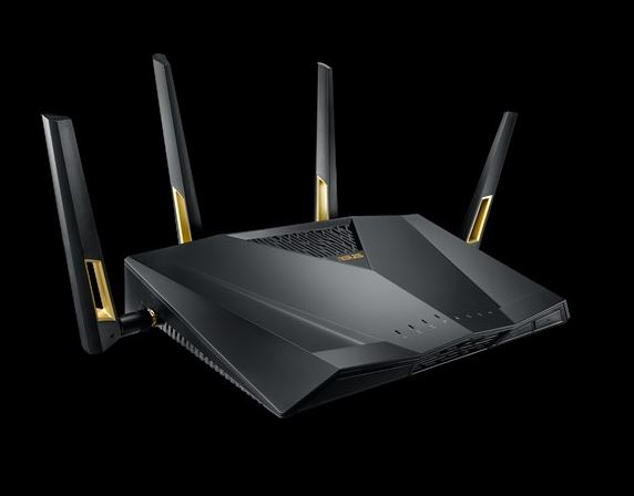ASUS-RT-AX88U-ASUS RT-AX88U AX6000 Dual Band Wi-Fi 6 (802.11ax) Router