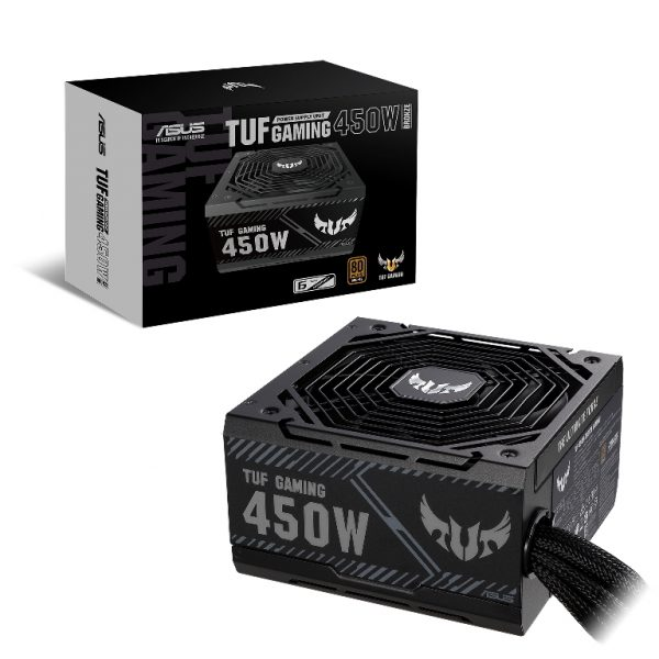 ASUS-TUF-GAMING-450B-ASUS TUF GAMING-450B 450W 80 PLUS Bronze ATX PSU