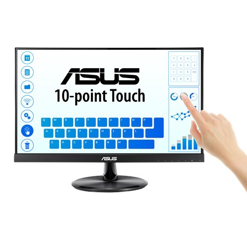 """ASUS-VT229H-ASUS VT229H 21.5"""" Touch Monitor - FHD (1920x1080)"""
