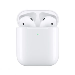 Apple-MRXJ2ZA/A-Apple AirPods with Wireless Charging Case - Automatically on