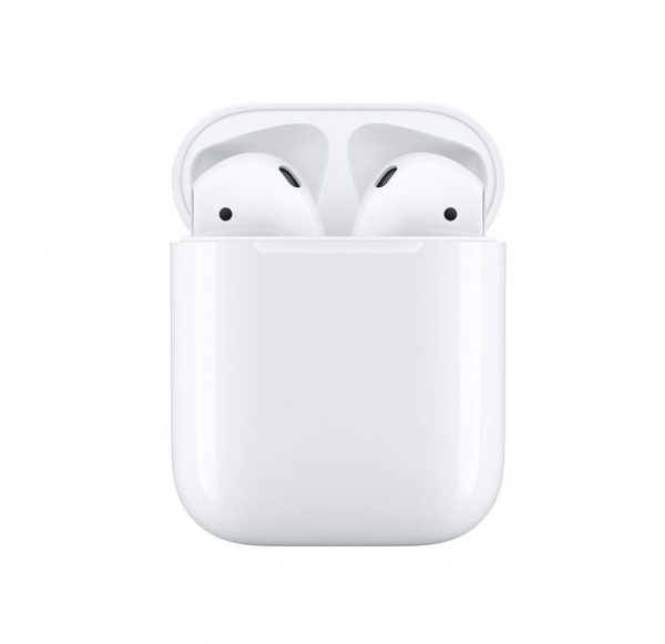 Apple-MV7N2ZA/A-Apple AirPods with Charging Case - Dual beamforming microphones
