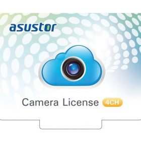 Asustor-AS-SCL04-Asustor NVR 4 Channel Camera Licenses for Surveillance Center Digital Version