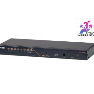 Aten-KH2508A-AX-U-Aten Rackmount KVM Switch 2 Console 8 Port Multi-Interface Cat 5