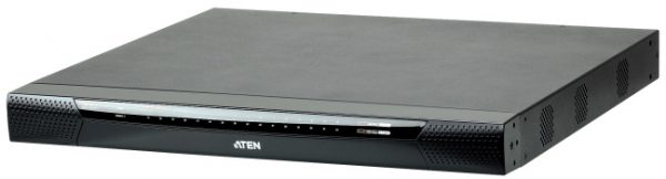 Aten-KN1132V-AX-U-Aten Altusen 1 Local/1 Remote Console 32 Port Rackmount USB-PS/2 Cat5 KVM Over IP Switch with Virtual