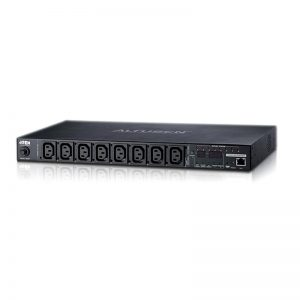 Aten-PE8208G-ATA-G-Aten 8 Port 1U 16A Smart PDU with Outlet level metering and outlet control