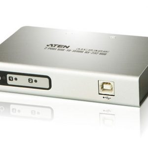 Aten-UC2322-AT-Aten Serial Hub 2 Port USB to RS232 Converter w/ 1.8m cable