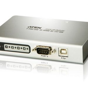 Aten-UC2324-AT-Aten Serial Hub 4 Port USB to RS232 Converter w/ 1.8m cable