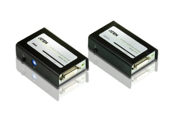 Aten-VE602-AT-U-Aten DVI Dual Link Over 2 Cat 5 Extender With Audio(LS)