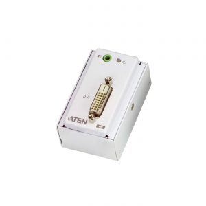 Aten-VE607-AT-U-Aten DVI Over 2 Cat 5 Extender with MK Wall Plate