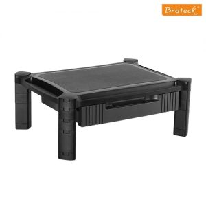Brateck-AMS-2-Brateck Height-Adjustable Modular Multi Purpose Smart Stand XL with Drawer for most 13''-32'' Weight Capacity 10kg