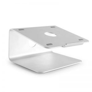 Brateck-AR-2-Brateck Deluxe Aluminium Desktop Stand for most 11''-17'' Laptops