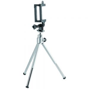 Brateck-BT-WT0252-G-Brateck Mini Tripod for Digital Camera and Phones with GoPro Adapter and Smartphone Holder(LS)