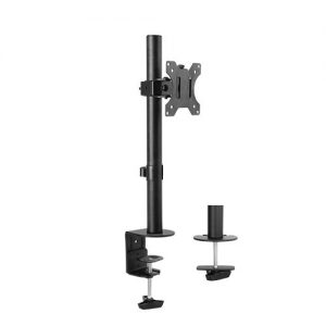 """Brateck-LDT12-C01-Brateck Single Screen Economical Articulating Steel Monitor Arm Fit Most 13""""-32"""" LCD monitors"""