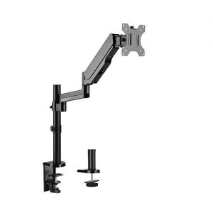 """Brateck-LDT16-C012-Brateck Single Monitor Full Extension Gas Spring Single Monitor Arm 17"""" - 32"""" Up to 8Kg Per screen VESA 75x75/100x100"""