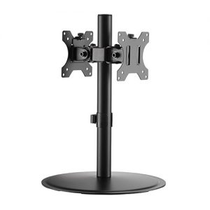 "Brateck-LDT40-T02-Brateck Articulating Pole Mount Single Dual Monitors Stand Fit Most 17""-32"" Monitors Up to 8kg per screen VESA (LS)"