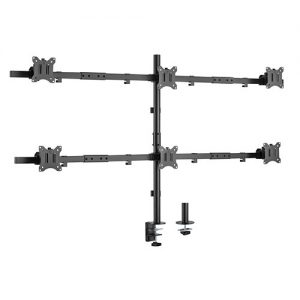 "Brateck-LDT57-C06-Brateck Pole Mount Six-Screen Monitor Mount Fit Most 17""-32"" Monitors"