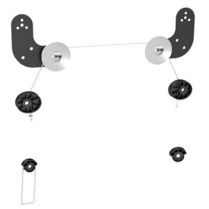 """Brateck-LED-06-Brateck Ultra Slim Wall Mount for LED  Thin LCD Screen Size 23"""" – 60""""(LS)"""