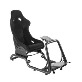 Brateck-LRS02-BS-Brateck Premium Racing Simulator Cockpit Seat Professional Grade Product for the Serious Sim Racer 600x1285~1515x1160mm