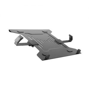 """Brateck-NBH-2-Brateck Steel Laptop Holder Fits10""""-15.6"""" for most desk mounts with standard 75x75/100x100 VESA plate"""
