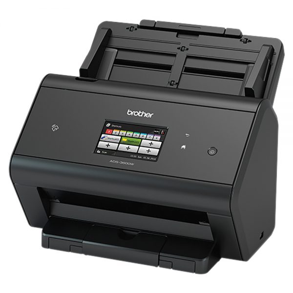 Brother-ADS-3600W-Brother ADS-3600W  Advanced Document Scanner High Speed 50pp Wireless