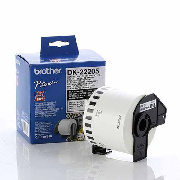 Brother-DK-22205-Brother DK-22205 Consumer Paper Roll