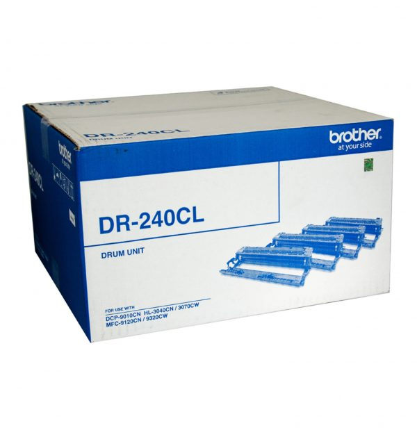 Brother-DR-240CL-Brother DR-240CL (set of 4) Colour Laser Drum- HL-3040CN/3045CN/3070CW/3075CW