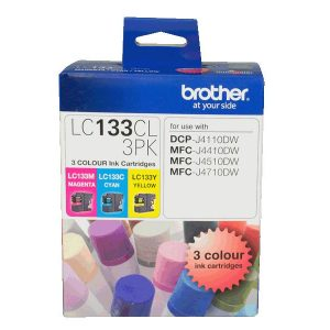 Brother-LC-133CL-3PK-Brother LC133 Colour Value Pack