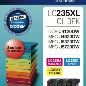Brother-LC-235XLCL-3PKS-Brother LC-235XL Colour Value Pack