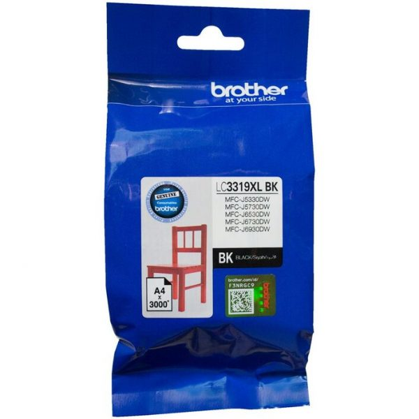 Brother-LC-3319XLBK-Brother LC-3319 XL Black to Suit - J5330DW/J5730DW/J6530DW/J6730DW/J6930DW