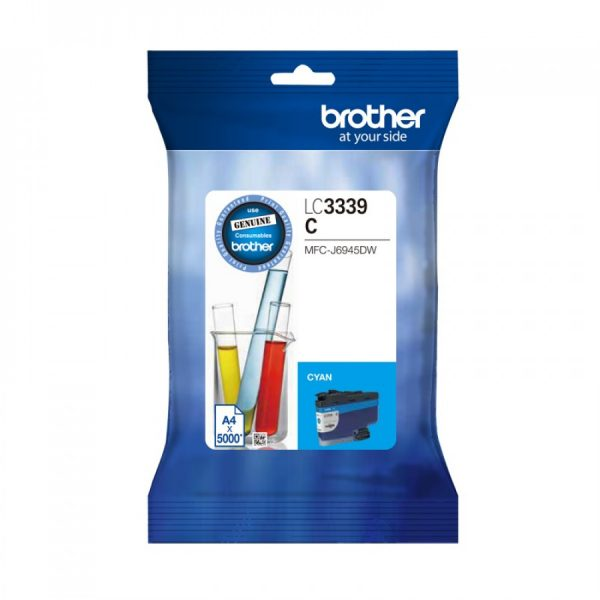 Brother-LC-3339XLC-Brother LC-3339XLC Cyan Super High Yield Ink Cartridge to Suit  MFC-J6945DW