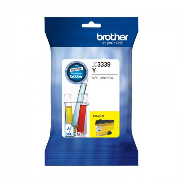 Brother-LC-3339XLY-Brother LC-3339XLY Yellow Super High Yield Ink Cartridge to Suit  MFC-J6945DW