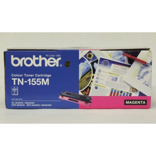Brother-TN-155M-Brother TN-155M Colour Laser Toner - High Yield Magenta - HL-4040CN/4050CDN