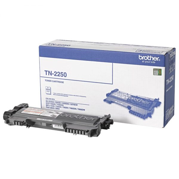 Brother-TN-2250-Brother TN-2250 Mono Laser- High Yield
