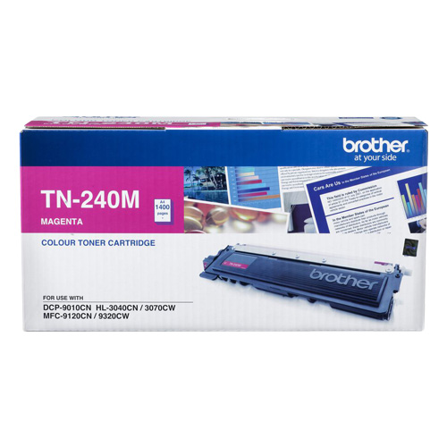 Brother-TN-240M-Brother TN-240M Colour Laser Toner- Magenta
