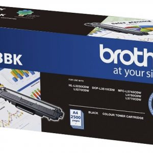 Brother-TN-253BK-Brother TN-253BK Black Toner Cartridge to Suit -  HL-3230CDW/3270CDW/DCP-L3015CDW/MFC-L3745CDW/L3750CDW/L3770CDW (2