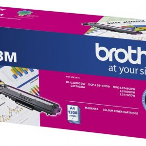 Brother-TN-253M-Brother TN-253M Magenta Toner Cartridge to Suit -  HL-3230CDW/3270CDW/DCP-L3015CDW/MFC-L3745CDW/L3750CDW/L3770CDW (1