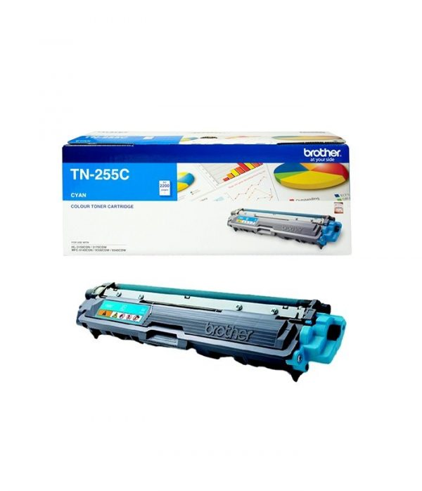 Brother-TN-255C-Brother TN-255C Colour Laser Toner- Cyan High Yield Cartridge-HL-3150CDN/3170CDW/MFC-9140CDN/9330CDW/9335CDW/9340CDW /DCP-9015CDW(2